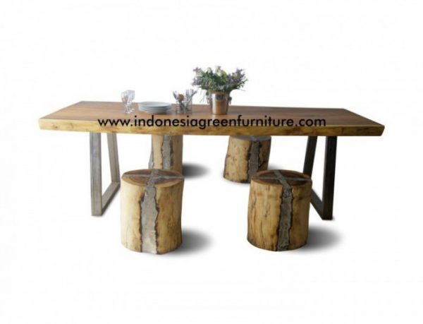 Edenia Dining Table Indonesia Industrial Furniture