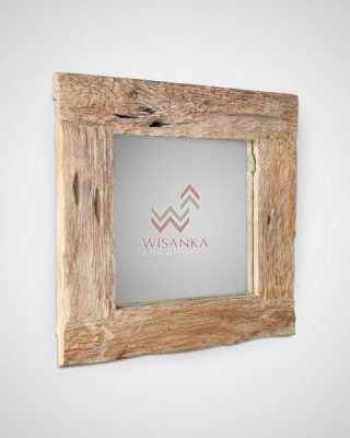 Reclaimed mirror ratta furniture