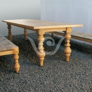 Omega Dining Set Reclaimed Pine