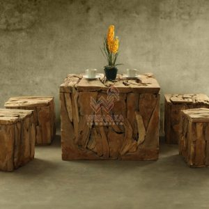 RL001 Square Reclaimed Teak 1