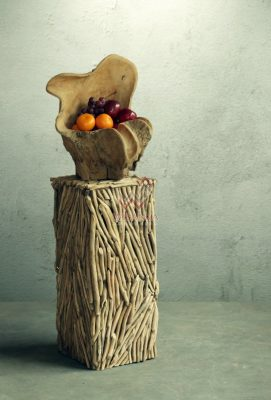 Reclaimed Standing Vase Furniture
