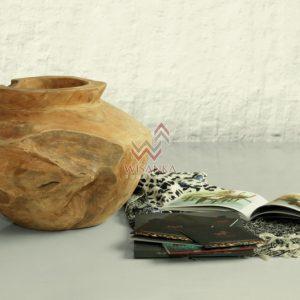Gentong and Buyan Wooden Vase