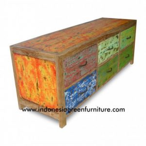 Taluti 6 Drawer Indonesia Reclaimed Boat
