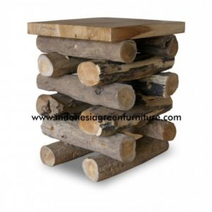 Wolo Stick Stool with wooden top