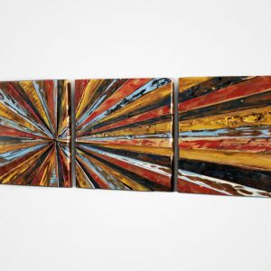 Reclaimed Hoola Wall Decor