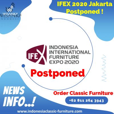IFEX 2020 Jakarta Postponed