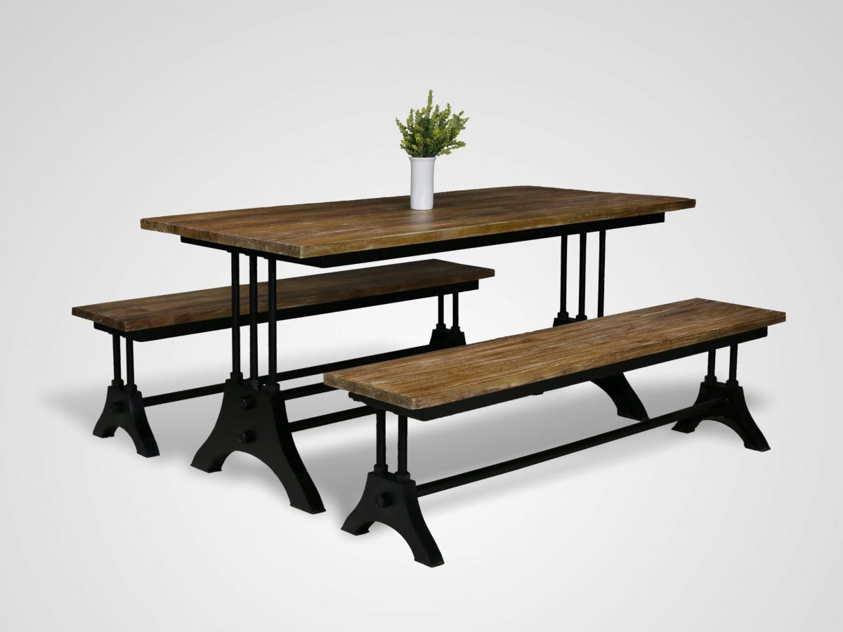 Reclaimed Wood Dining Table Care And