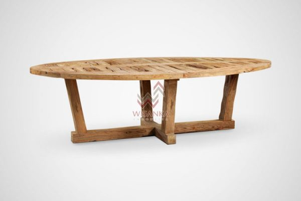 Custom Reclaimed Wood Dining Table Industrial