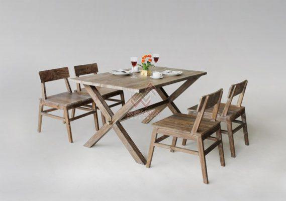 restaurant wood tables